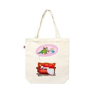 Plátenná taška Spiaca princezná