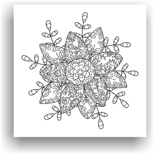Obraz na vymaľovanie Color It no. 87, 50x50 cm