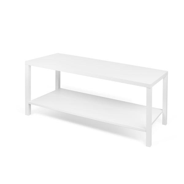 Biely odkladací stolík TemaHome Basic