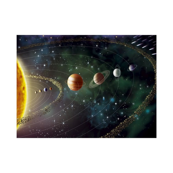 Veľkoformátová tapeta Planéty, 315x232 cm