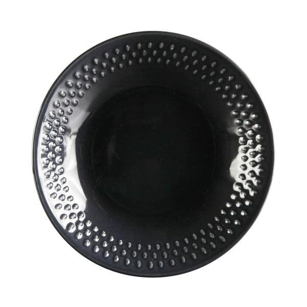 Sada 6 hlbokých tanierov Grain Blackpepper