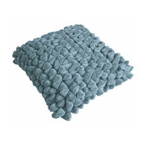 Modrý vankúš ZicZac Pebble, 45x45cm