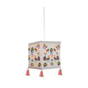 Textilné závesné svietidlo Madre Selva Ave Otomo