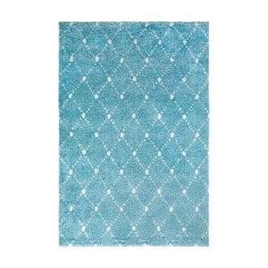 Modrý koberec Obsession Manhattan, 110×60 cm