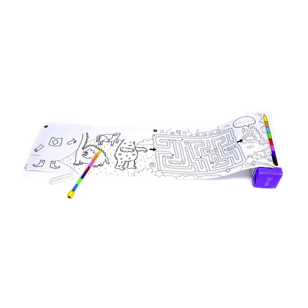 Vrecková maľovanka OMY Pocket Magic  (30 x 42 cm)