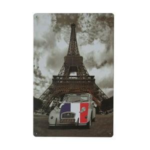Ceduľa Paris, 20x30 cm