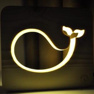 Detská lampička Creative Gifts Veľryba