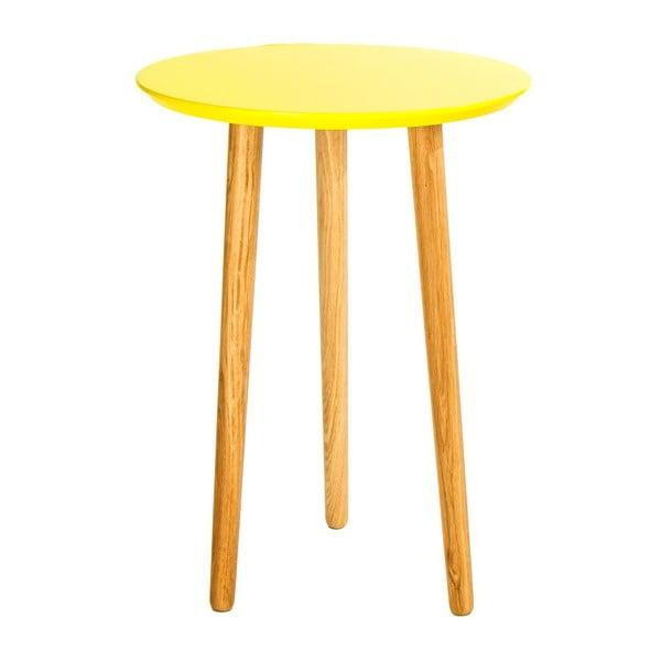 Odkladací stolík Blow Yellow