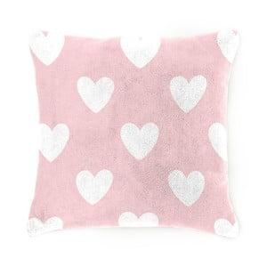 Detský vankúšik Home Collection Amore pink, 40x40 cm
