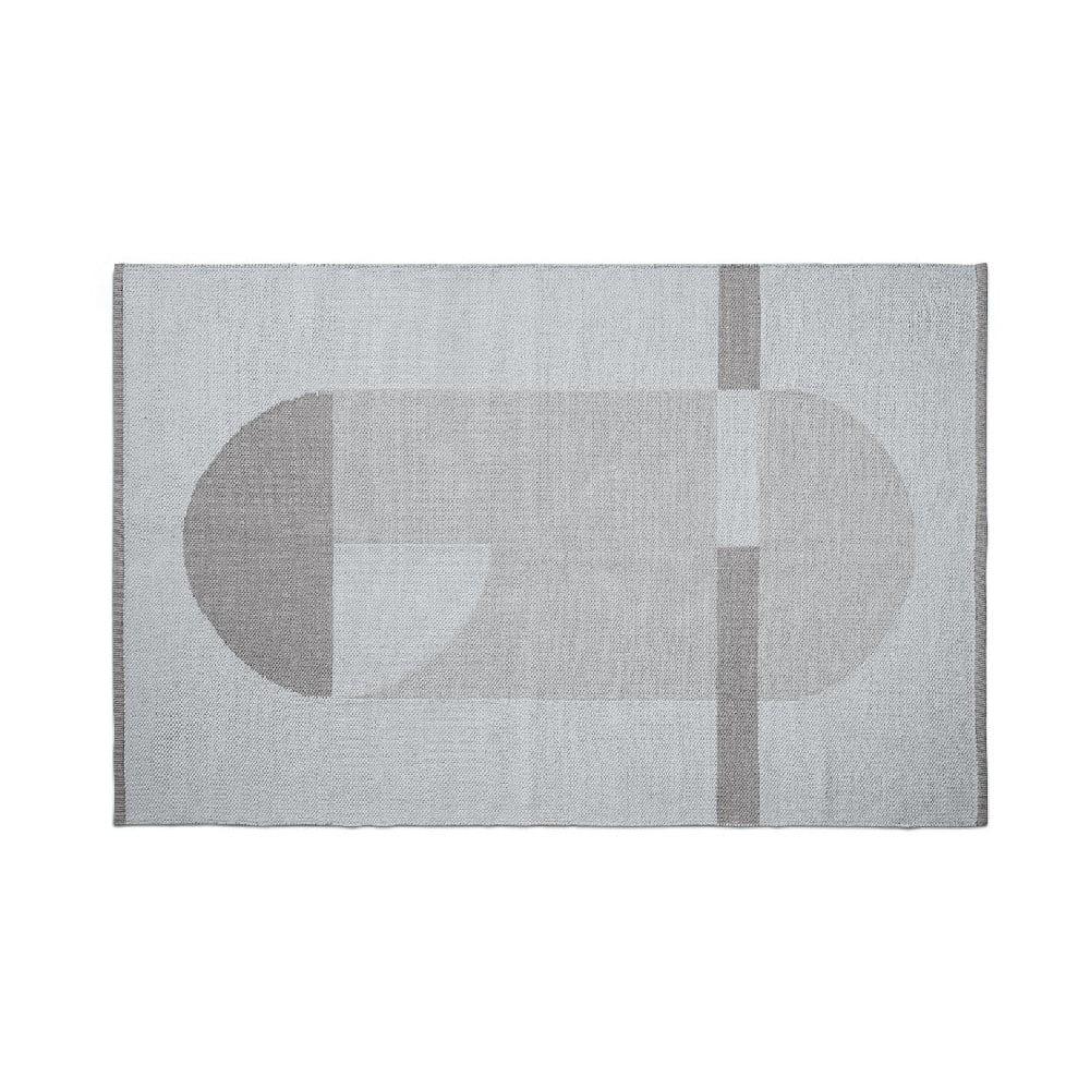 Sivý detský koberec Flexa Room, 120 x 180 cm