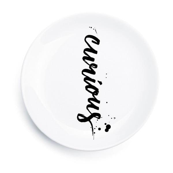Porcelánový tanier Curious, 25 cm