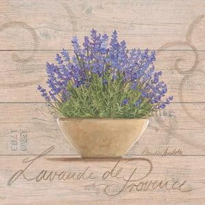 Obraz na plátne Lavande De Provence 20x20 cm