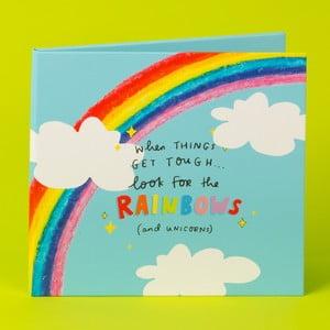 Zatvárateľný rám na fotografie Happy News Rainbows