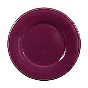 Fialový keramický tanier Côté Table Constance
