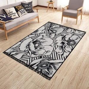 Obojstranný prateľný koberec Kate Louise Doube Sided Rug Blackrose, 120 × 180 cm
