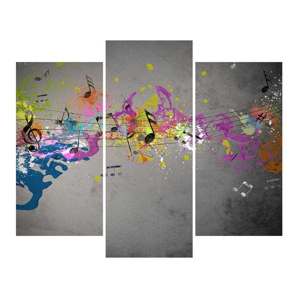 3-dielny obraz Musical