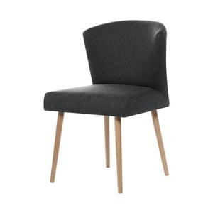Tmavosivá jedálenská stolička My Pop Design Richter