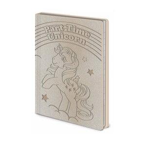 Linajkový zápisník A6 Pyramid International My Little Pony, 56 strán