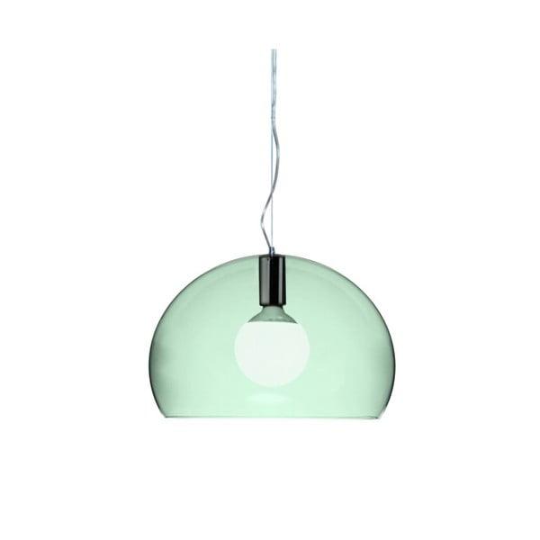 Menšie zelené stropné svietidloKartellFly