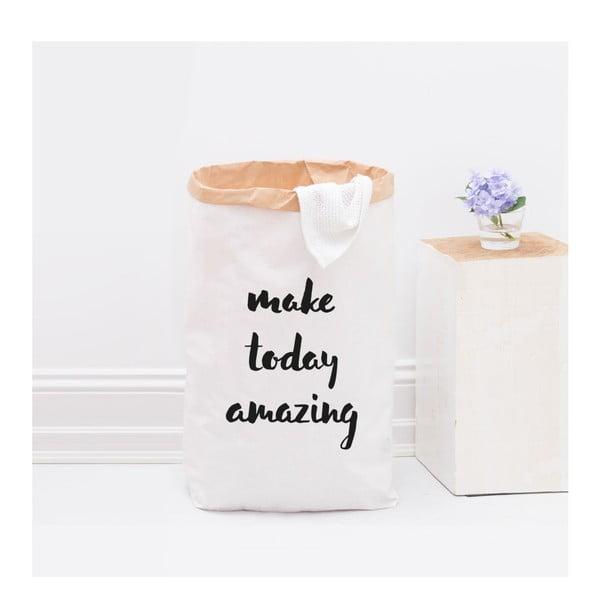 Papierové vrece Make today amazing