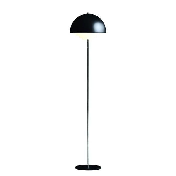 Čierna stojacia lampa Herstal Motown