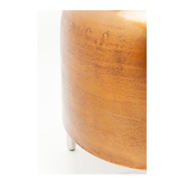 Stolička v medenej farbe Kare Design Lumpy
