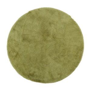 Zelená predložka do kúpeľne Confetti Bathmats Miami, 100cm