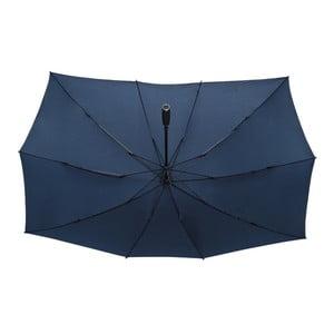 Modrý obdĺžnikový dáždnik pre dvoch Ambiance Falconetti