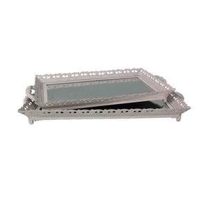 Sada 2 podnosov Antic Line Grey Mirror
