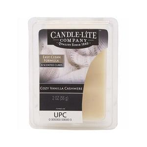 Vonný vosk do aromalampy s vôňou vanilky a kašmíru Candle-Lite, doba prevoňania až 10 hodín