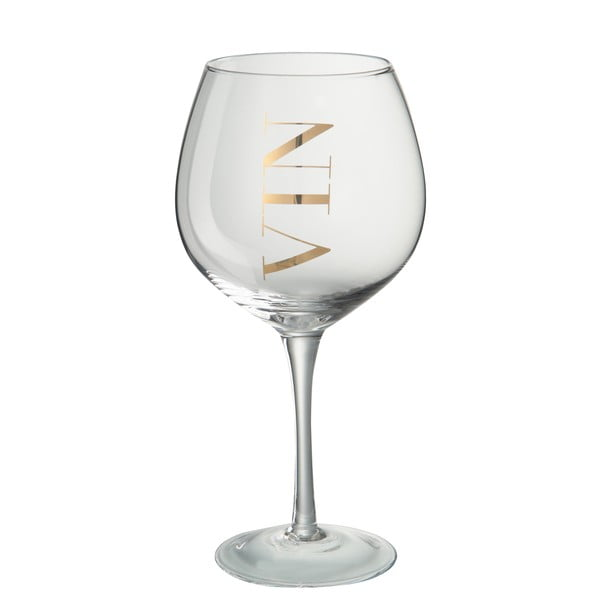 Pohár na biele víno J-Line Gold Elegance