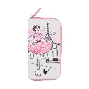 Bavlnená peňaženka na zips Le Studio Parisienne