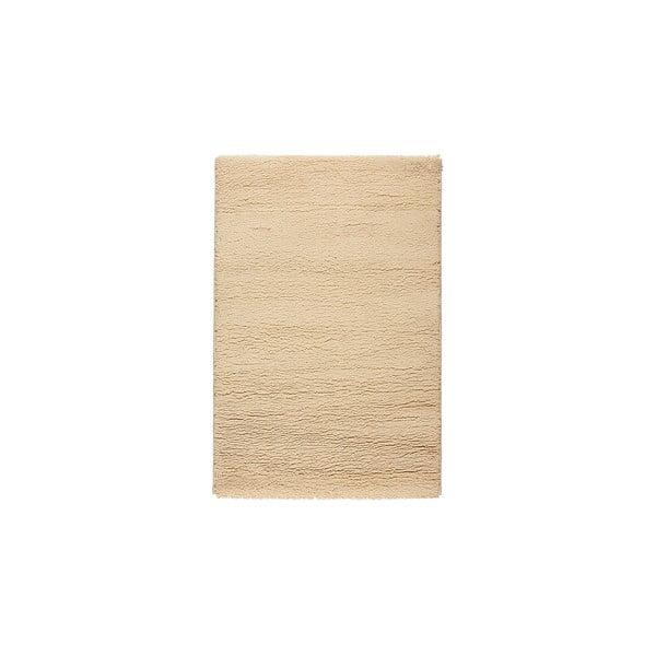 Vlnený koberec Pradera, 140x200 cm, krémový