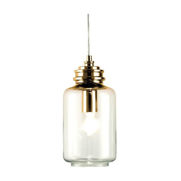Závesné svietidlo Scan Lamps Jar Copper