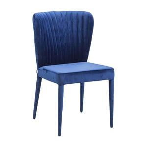 Sada 2 modrých jedálenských stoličiek Kare Design Cosmos