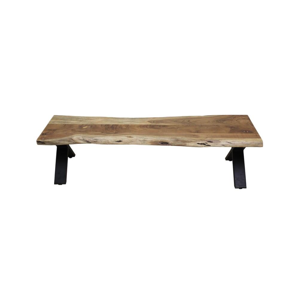 Lavice z akáciového dreva HSM collection Soho, 180 cm
