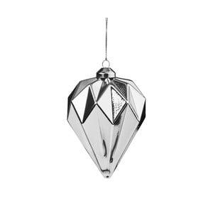 Vianočná závesná ozdoba zo skla Butlers Diamant