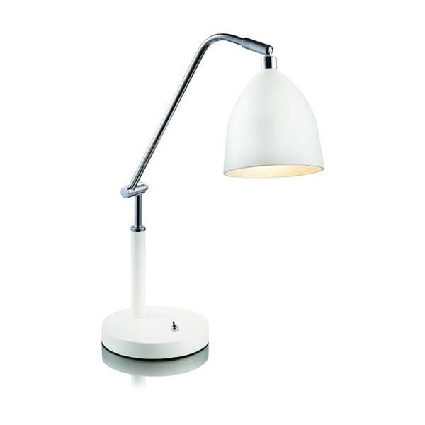 Biela stolová lampa Markslöjd Fredrikshamn