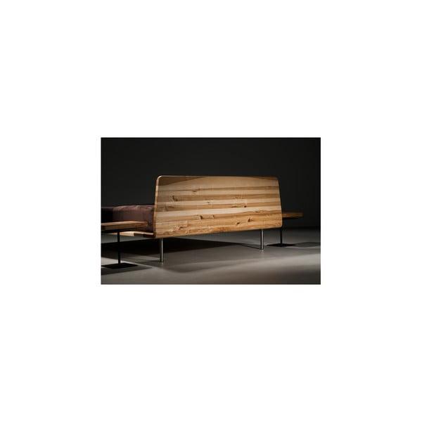 Posteľ z jelšového dreva Mazzivo Letto, 200 x 200 cm