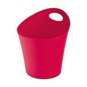 Veľká červená plastová úložná nádoba Koziol Pottichelli, 3 l