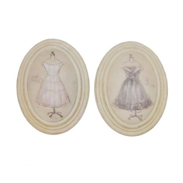 Sada 2 obrázkov Antic Line Vintage Dress