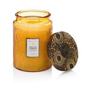 Sviečka s vôňou živice, vanilky, orchidey a santalového dreva Voluspa, 100 hodín horenia