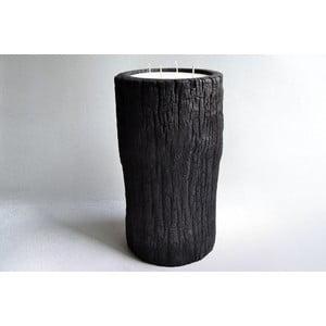Palmová sviečka Legno Bruciato s vôňou vanilky a pačuli, 80 hodín horenia