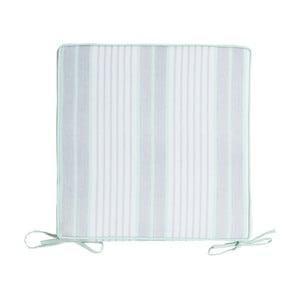VenVonkajší kovní sedák so sivým lemom Blyco Outdoor New Classic, 40 x 40 cm