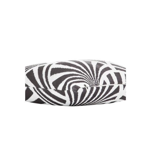 Vankúš s výplňou Grey and White 15, 43x43 cm