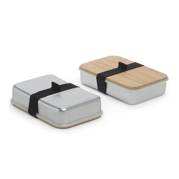 Sandwich Box, strieborný