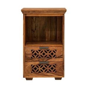 Nočný stolík z masívneho palisandrového dreva Massive Home Rosie