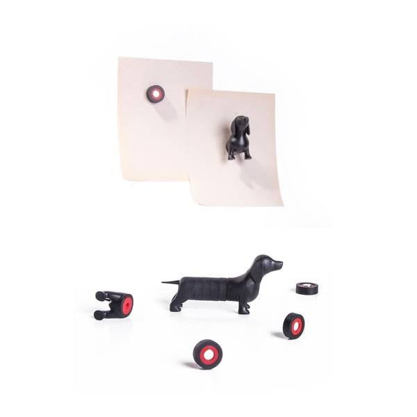 Sada magnetov QUALY Magnetic Dog, jazvečík