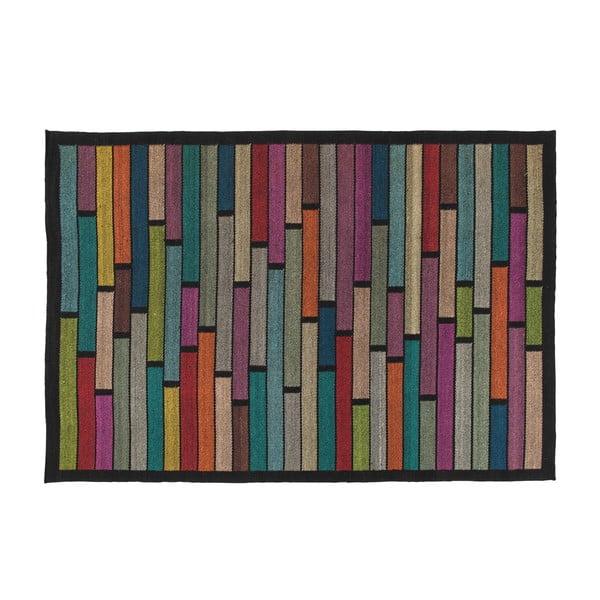 Vlnený koberec Rubina Black, 170x240 cm
