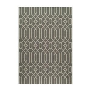 Sivý koberec Nourison Baja Talara, 290×201cm